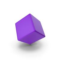 Purple Cube PNG & PSD Images
