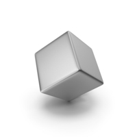 Silver Cube PNG & PSD Images