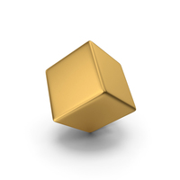 Gold Cube PNG & PSD Images