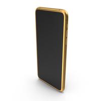 Generic Smartphone Golden PNG & PSD Images