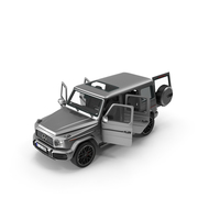 Mercedes Benz AMG G 63 Opened Doors PNG & PSD Images