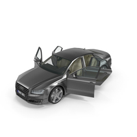 Audi A8 Opened Doors PNG & PSD Images