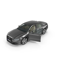 Audi A8 Opened Door PNG & PSD Images