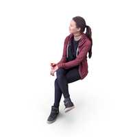 Woman Sitting PNG & PSD Images