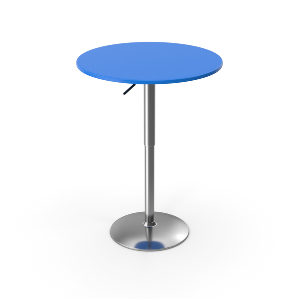 Bar Table Blue PNG & PSD Images