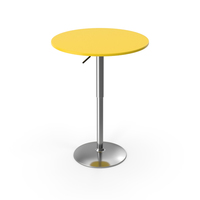 Bar Table Yellow PNG & PSD Images