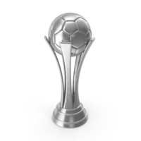 Soccer Cup Silver PNG & PSD Images