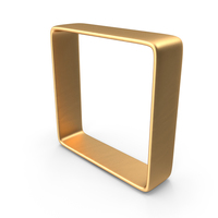 Gold Square PNG & PSD Images