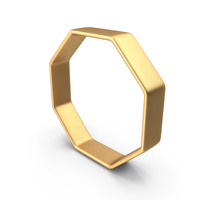 Gold Octagon PNG & PSD Images