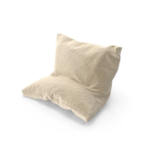 Leaning Pillow Suede PNG & PSD Images