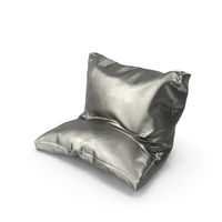 Leaning Pillow Metallic PNG & PSD Images