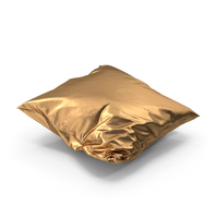 Wrinkly Pillow Golden PNG & PSD Images