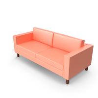 Ikea Karlstad Loveseat PNG & PSD Images