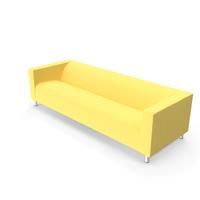 Ikea Klippan Four-Seat Sofa PNG & PSD Images