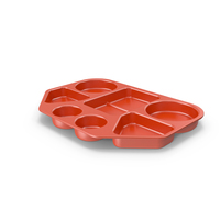 Lunch Food Tray Red PNG & PSD Images