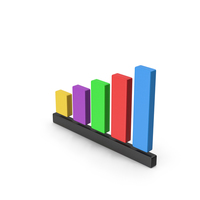 Bar Graph Icon PNG & PSD Images