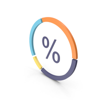 Percentage Infographic PNG & PSD Images