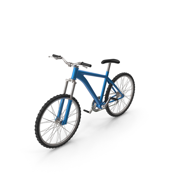 Bicycle Blue PNG & PSD Images