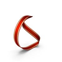 Ribbon Circle Slightly Folded PNG & PSD Images
