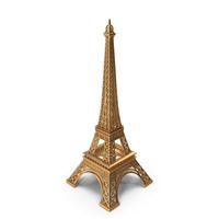 Golden Eiffel Tower PNG & PSD Images