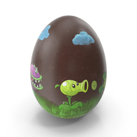 Easter Egg Chocolate Plants Vs Zombies PNG & PSD Images