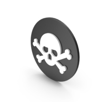 Skull and Crossbones Icon PNG & PSD Images
