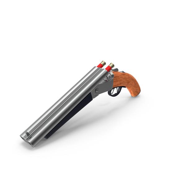 Double Barrel Shot Gun PNG & PSD Images
