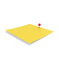 Yellow Sticky Note PNG & PSD Images