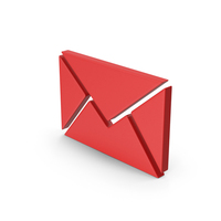 Red Symbol Message PNG & PSD Images