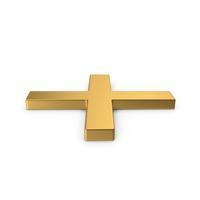 Gold Symbol X Mark PNG & PSD Images