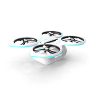 Delivery Drone Quadrocopter PNG & PSD Images