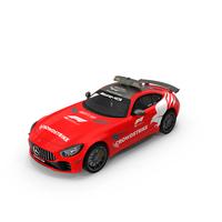 Mercedes AMG GTR FIA F1 Safety Car 2021 PNG & PSD Images