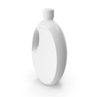 Cleaner Plastic Bottle White PNG & PSD Images