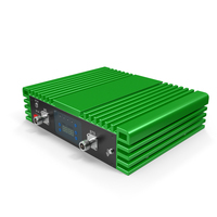 Cellphone Signal Booster Green PNG & PSD Images