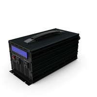 Power Inverter Black PNG & PSD Images