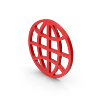 Symbol Web Red PNG & PSD Images