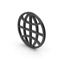 Symbol Web Black PNG & PSD Images