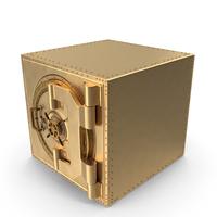 Golden Vault Closed PNG & PSD Images