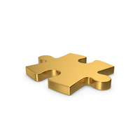 Puzzle Gold PNG & PSD Images