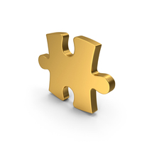 Gold Puzzle PNG & PSD Images