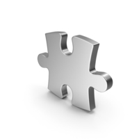 Silver Puzzle PNG & PSD Images