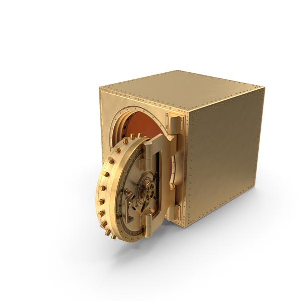 Golden Vault Open PNG & PSD Images