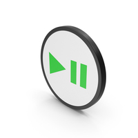 Play Pause Button PNG & PSD Images