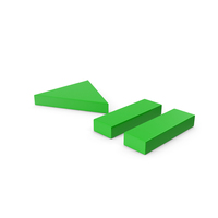 Green Play Pause Button PNG & PSD Images
