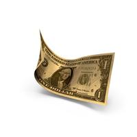 Golden Dollar PNG & PSD Images