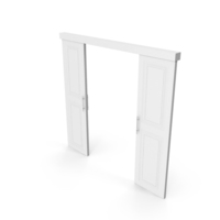 Sliding Door White PNG & PSD Images