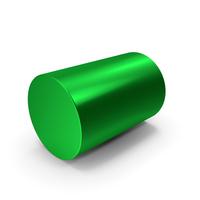 Green Metal Cylinder PNG & PSD Images