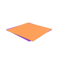 Papers Orange Purple PNG & PSD Images