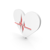 Heart White PNG & PSD Images