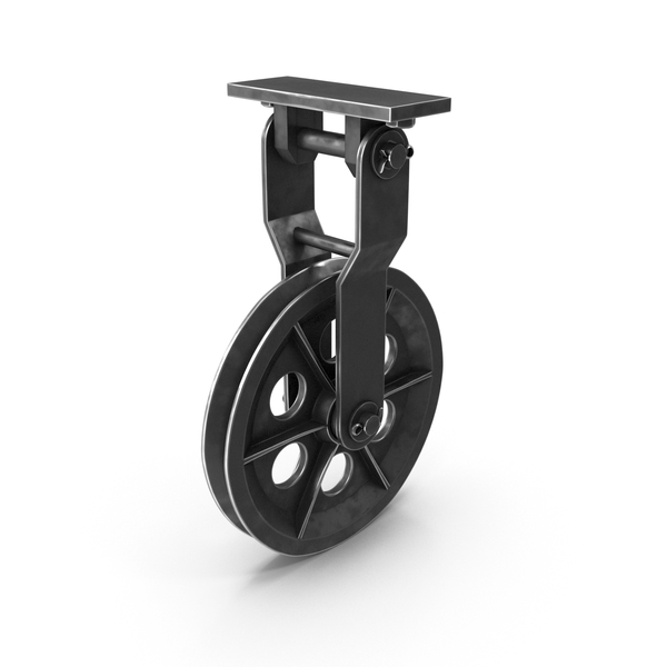 Pulley Wheel with Ceiling Mount PNG & PSD Images